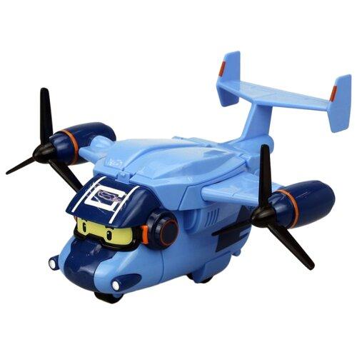 Купить Самолет Silverlit Робокар Поли Кэри (83361) 17 см голубой, Машинки и техника