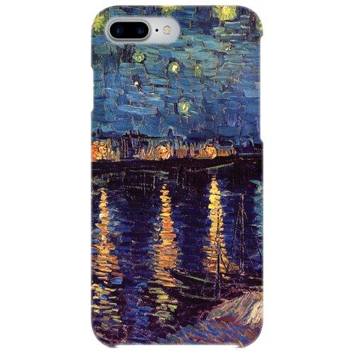 Чехол Mitya Veselkov IP7PLUS.MITYA-003 для Apple iPhone 7 Plus/iPhone 8 Plus ночь над Роной цена 2017