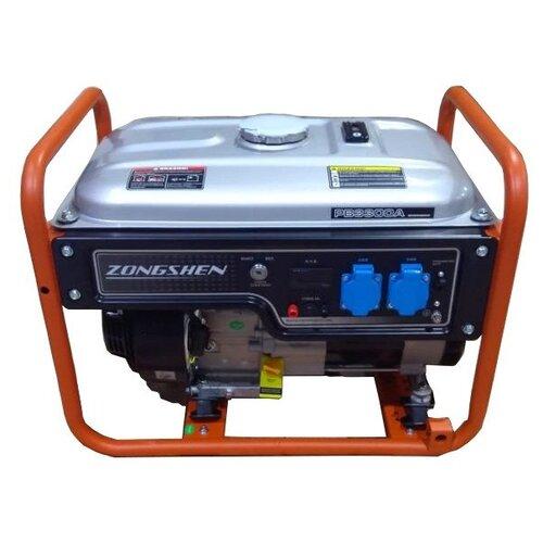 Бензиновый генератор ZONGSHEN PB 3300EA (2800 Вт)
