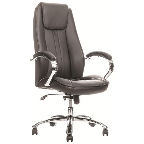 Фото - Компьютерное кресло Everprof Long TM для руководителя, обивка: искусственная кожа, цвет: черный компьютерное кресло everprof trend tm для руководителя обивка искусственная кожа цвет черный
