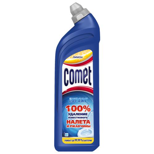 Comet Expert гель для туалета лимон 0.75 лДля кафеля, сантехники и труб<br>