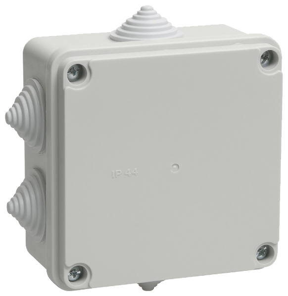 Распределительная коробка IEK KM41234 наружный монтаж 100x100 мм