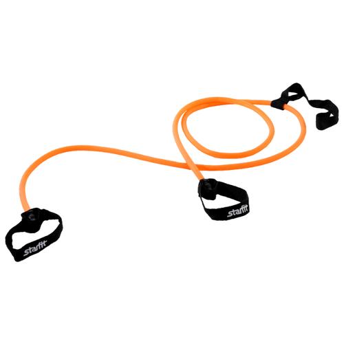 Эспандер для лыжника (боксера, пловца) Starfit ES-901 (3 кг) 220 см оранжевый/черный эспандер для лыжника боксера пловца starfit es 901 6 кг 220 см синий черный