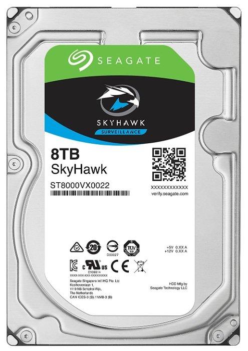 Жесткий диск Seagate SkyHawk 8 TB ST8000VX0022 фото 1
