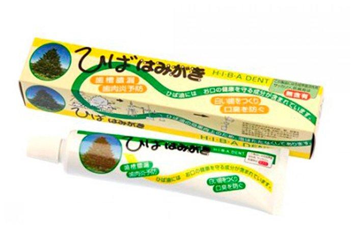 Зубная паста Fudo Kagaku Hiba Dent предотвращающая болезнь
