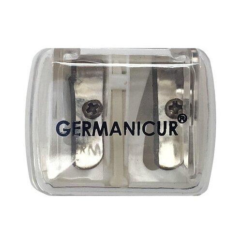 Точилка Germanicur GM-181-03 белый/бесцветный/серебристый