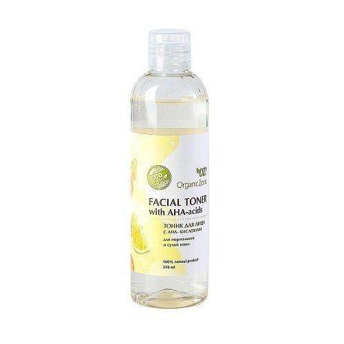 Купить OZ! OrganicZone Тоник для лица с АНА-кислотами для нормальной и сухой кожи, 250 мл