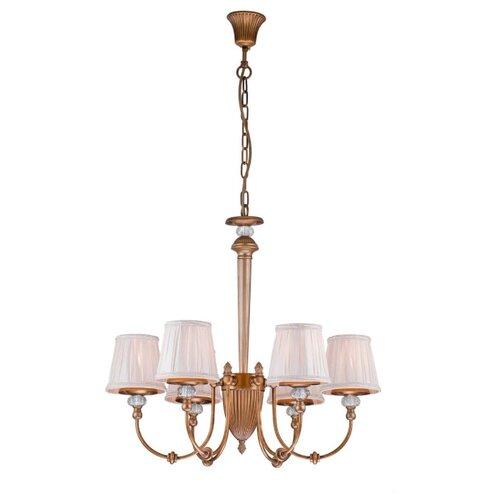 Люстра Arti Lampadari Roana E 1.1.6 AG, E14, 240 Вт люстра arti lampadari falcone e 1 1 6 600 cg e14 240 вт