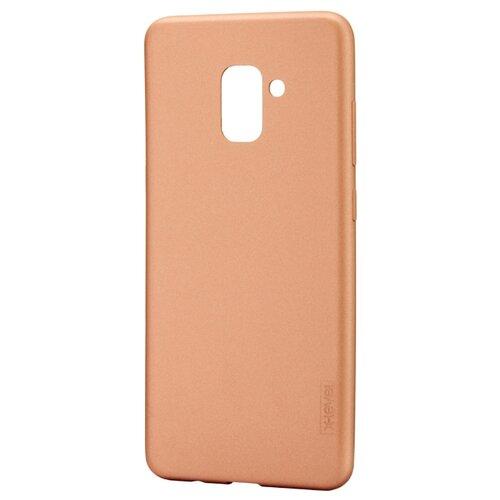 Чехол X-LEVEL Guardian для Samsung A8 Plus 2018 золотойЧехлы<br>