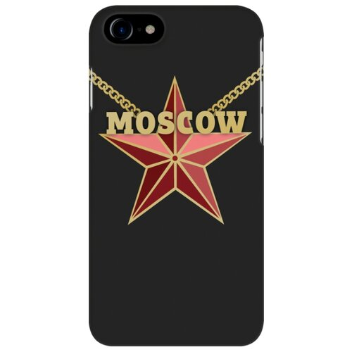 цена на Чехол Mitya Veselkov IP7.MITYA-011 для Apple iPhone 7/iPhone 8 Moscow star