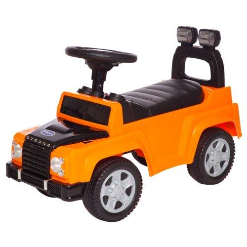 Купить Каталка-толокар Baby Care Strong (634) оранжевый, Каталки и качалки