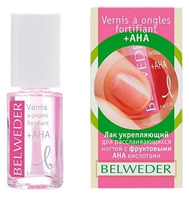 Лак Belweder укрепляющий с фруктовыми (АХА) кислотами