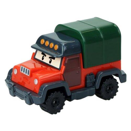 Фото - Фургон Silverlit Робокар Поли Почер (83357) красный/зеленый трансформер silverlit robocar poli почер зеленый красный