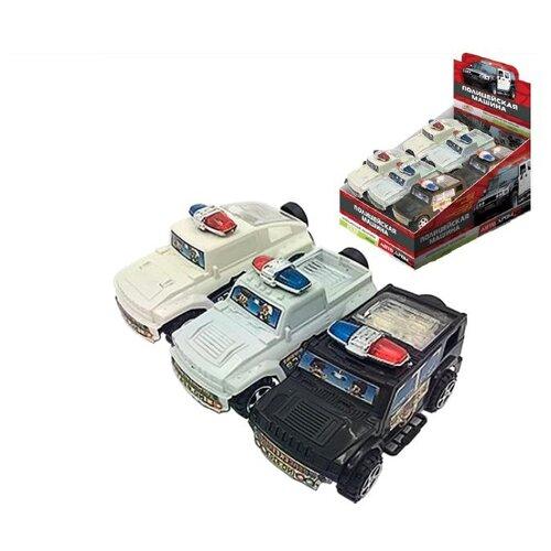 Драже Конфитрейд с игрушкой Полицейская машина, 5 гФрукты и орехи в глазури, драже<br>
