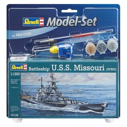 Сборная модель Revell Battleship USS Missouri (65128) 1:1200