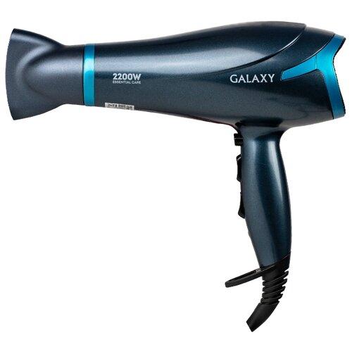 Фен Galaxy GL4329 черный/синий