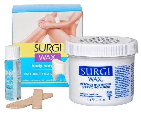 Surgi Набор для удаления волос в зоне бикини, на теле и ногах