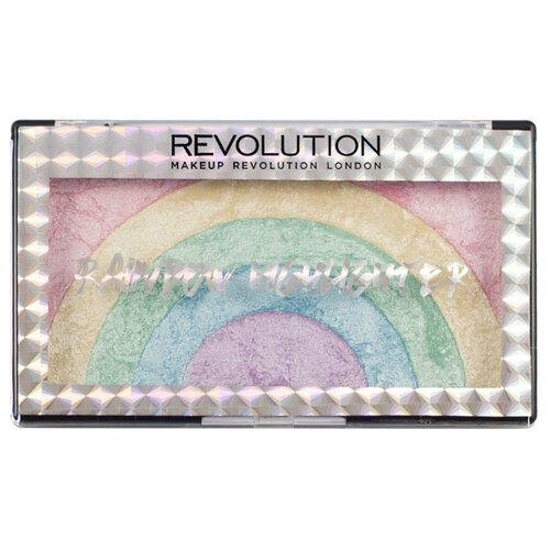 REVOLUTION Хайлайтер Rainbow Highlighter rainbowХайлайтеры и скульптурирующие средства<br>