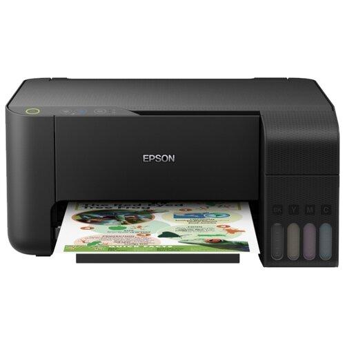 Фото - МФУ Epson L3100, черный мфу epson l4160 черный
