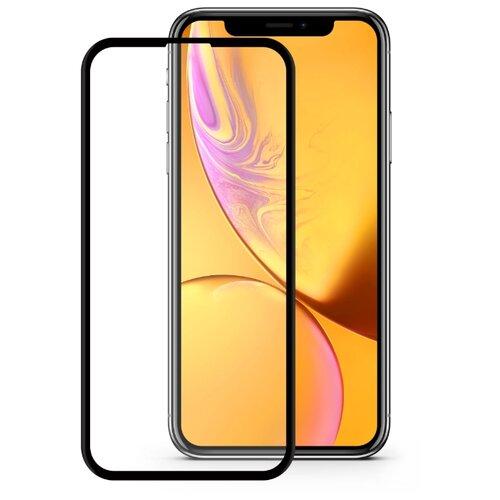 Защитное стекло Mobius 3D Full Cover Premium Tempered Glass для Apple iPhone XR черный защитное стекло mobius 3d full cover premium tempered glass для meizu m5c черный
