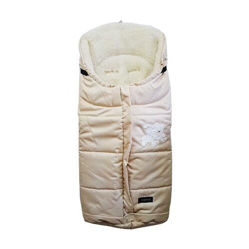 Купить Конверт-мешок Womar Wintry в коляску 1/1 бежевый, Конверты и спальные мешки
