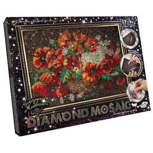 Купить Danko Toys Набор алмазной вышивки Diamond Mosaic Цветы (DM-01-06) 40х30 см, Алмазная вышивка