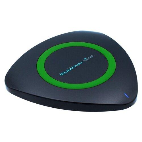Купить Сетевая зарядка Qumann QWC-01 черно-зеленый