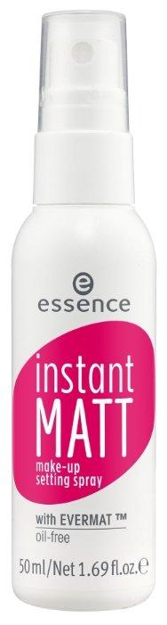 Essence Спрей для фиксации макияжа Instant Matt Make-up Setting Spray 50 мл