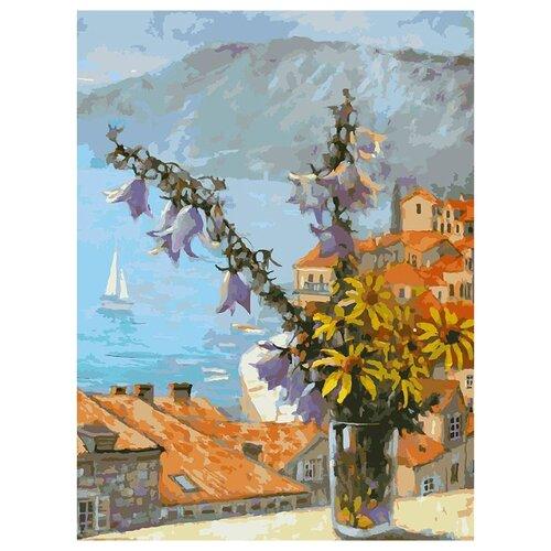 Купить Белоснежка Картина по номерам Букет с колокольчиками 30х40 см (059-AS), Картины по номерам и контурам
