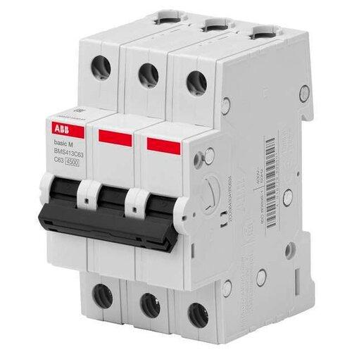 Автоматический выключатель ABB Basic M 3P (C) 4,5kA 32 ААвтоматические выключатели<br>