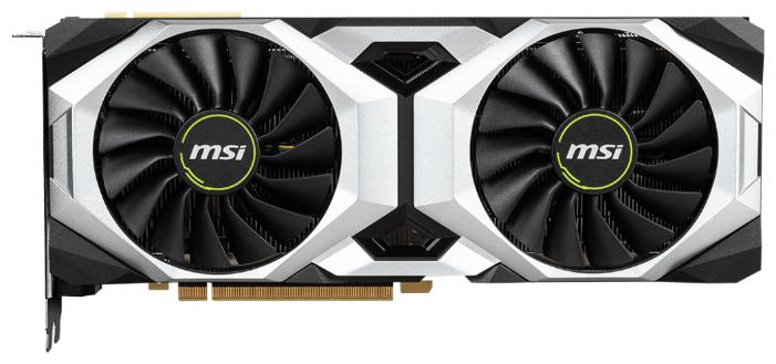 MSI Видеокарта MSI GeForce RTX 2080 Ti 1350MHz PCI-E 3.0 11264MB 14000MHz 352 bit HDMI HDCP VENTUS