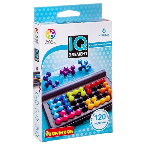 Купить Головоломка BONDIBON Smart Games IQ-Элемент (ВВ0941), Головоломки