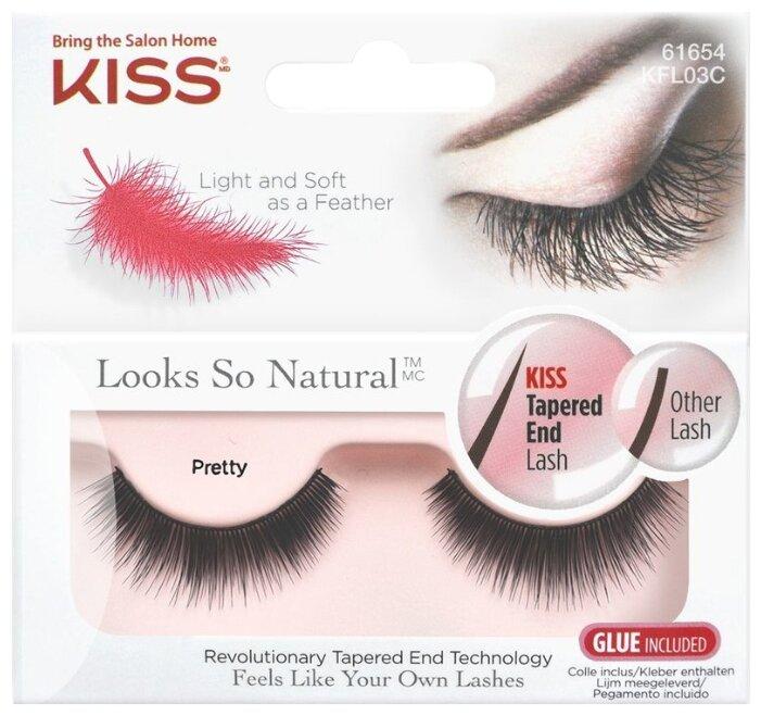Kiss накладные ресницы Looks so Natural Pretty
