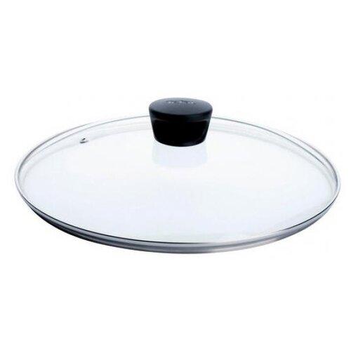 цена Крышка Tefal стеклянная 04090120 (20 см) прозрачный/черный онлайн в 2017 году
