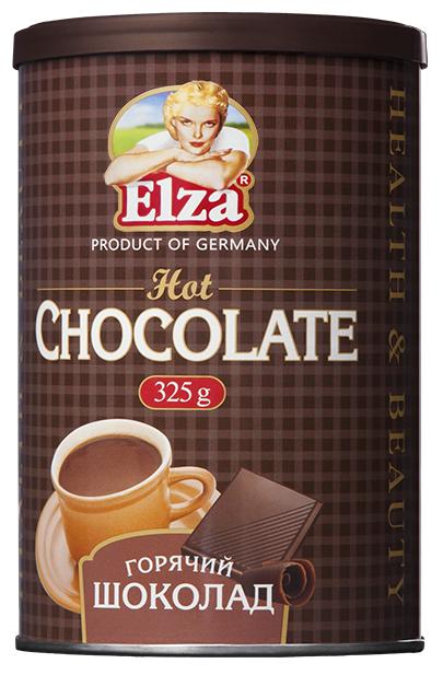 Elza Горячий шоколад растворимый, банка