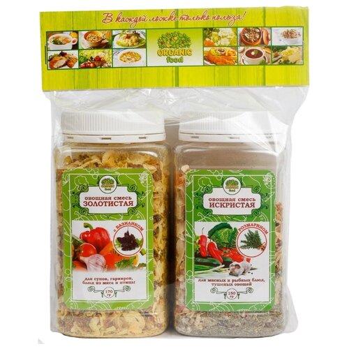 Organic Food Набор специй Золотистая и Искристая, 320 г