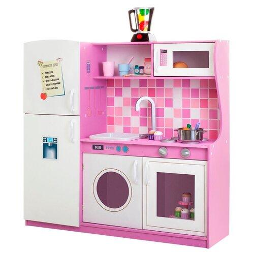 Купить Кухня PAREMO PK218/PK218-01/PK218-02/PK218-03/PK218-04/PK218-05/PK218-06/PK218-07 белый/темно-розовый, Детские кухни и бытовая техника