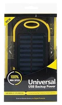 Аккумулятор Solar Charger 5200 mAh