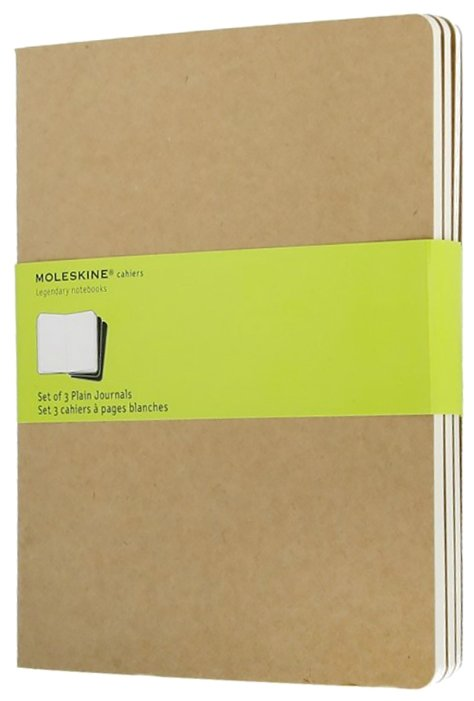 Блокнот Moleskine Cahier Journal XL 190х250, 60 листов 385203(QP423)