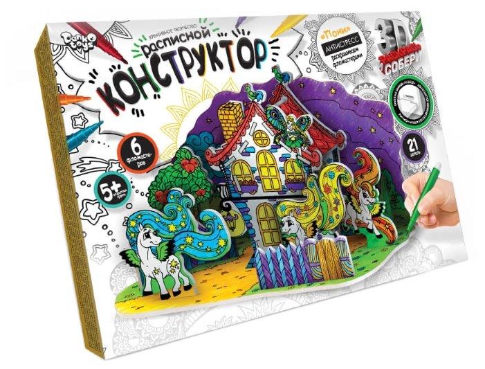 """Danko Toys Расписной 3D конструктор """"Пони"""""""