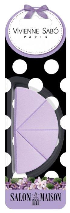 Набор спонжей Vivienne Sabo для макияжа Triangular Makeup Sponges Set, 4 шт.