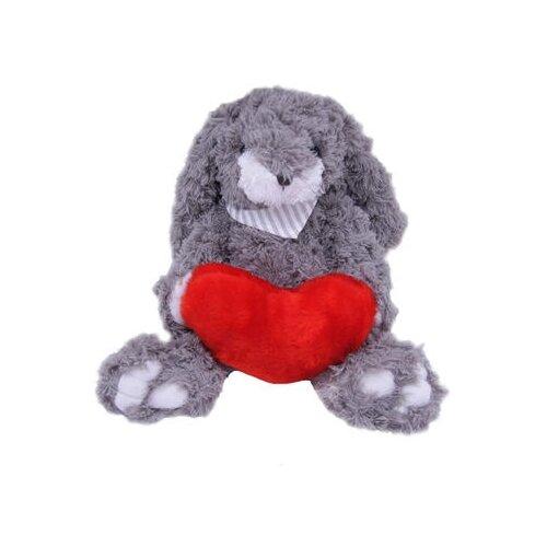 Мягкая игрушка Magic Bear Toys Заяц Гарольд с сердцем 23 смМягкие игрушки<br>