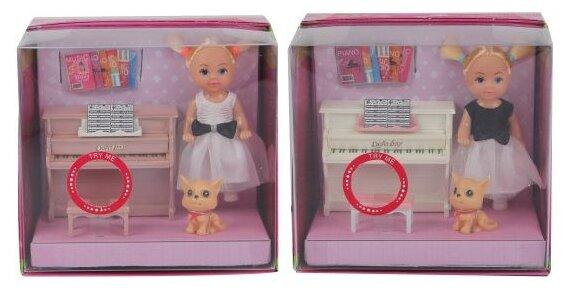 Кукла Defa Lucy Урок музыки, 15 см, 8391
