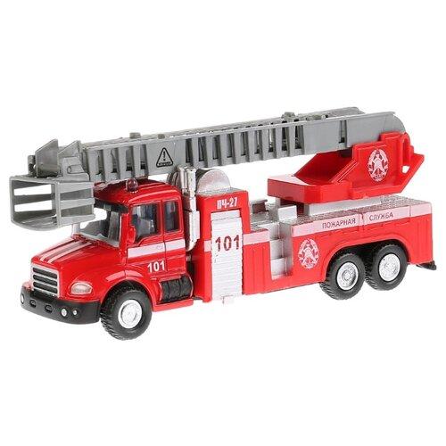 Пожарный автомобиль ТЕХНОПАРК 251A1-R 15.5 см красный автомобиль технопарк гонки цвет в ассортименте ebs868 r