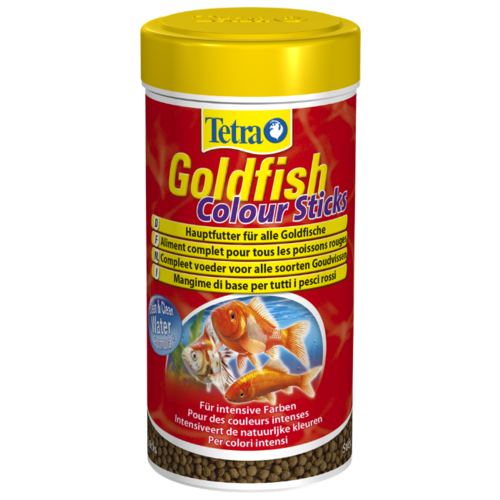 Сухой корм для рыб Tetra Goldfish Colour Sticks 250 мл сухой корм для рыб tetra goldfish 10000 мл
