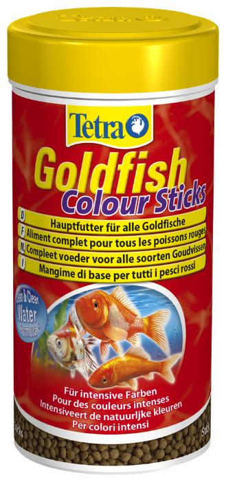 Сухой корм Tetra Goldfish Colour Sticks для рыб
