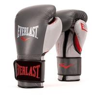 Боксерские перчатки Everlast Powerlock PU black/pink 12 oz
