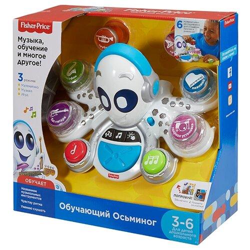 Интерактивная развивающая игрушка Fisher-Price Обучающий Осьминог белыйРазвивающие игрушки<br>