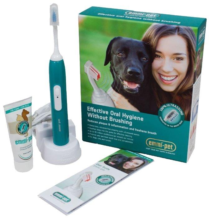 Комплект Emmi-dent для чистки зубов для животных