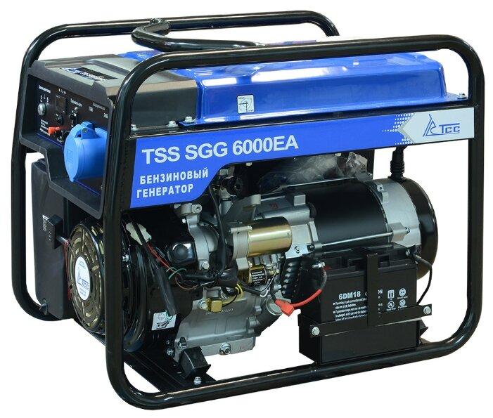 Бензиновый генератор ТСС SGG-6000 EA с АВР (6000 Вт)